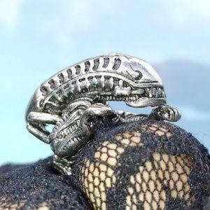 Amazing Steel Alien Ring!